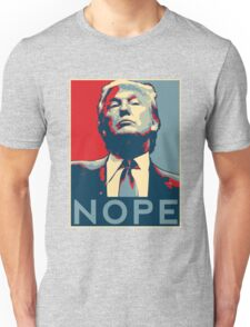 "Donald Trump ""NOPE"" Unisex T-Shirt"