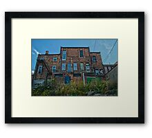 Historic rustic Chatham-Kent building Framed Print