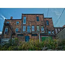 Historic rustic Chatham-Kent building Photographic Print