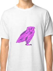 Owl I Ever Wanted-Purple Classic T-Shirt