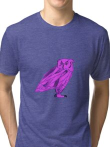 Owl I Ever Wanted-Purple Tri-blend T-Shirt
