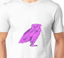 Owl I Ever Wanted-Purple Unisex T-Shirt