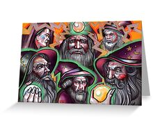 electric wizards Greeting Card