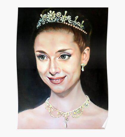 Princess Anna in Roman Holiday Poster