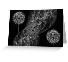 ☸•DANDY LIONS SEEDS OF AFFECTION PICTURE/ CARD•☸ Greeting Card