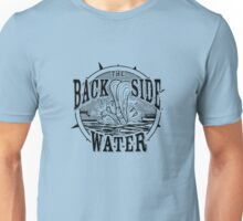 Back Side of Water (Black) Unisex T-Shirt