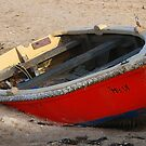 Red Boat by Maureen Clark