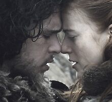 Jon & Ygritte by lexipedia