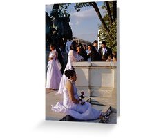 Wedding in Washington, DC Greeting Card