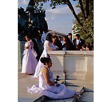 Wedding in Washington, DC Photographic Print