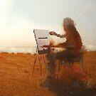 artist in the sun by Nikolay Semyonov