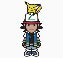 Ash Ketchum and Pikachu! Kids Clothes