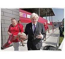 Boris Johnson officially opens streatham-croydon R.F.C Poster