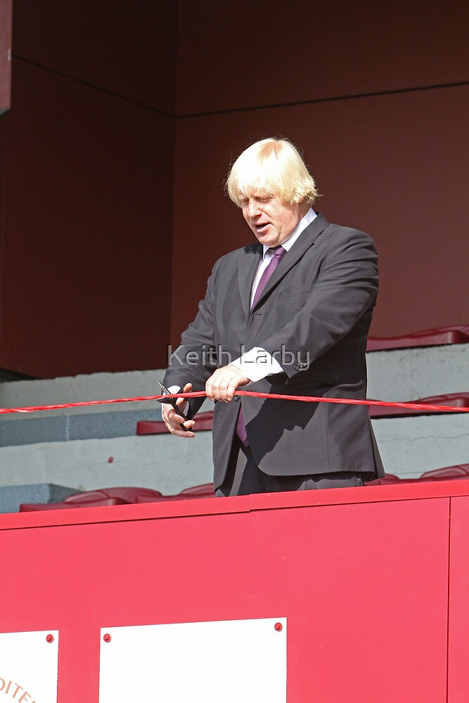 Boris Johnson officially opens Streatham-Croydon R.F.C. by Keith Larby