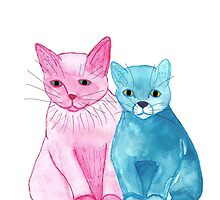 Kittens by EliTrier