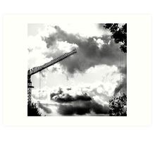 CLOUDS OVER THE PDC 2 Art Print