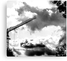 CLOUDS OVER THE PDC 2 Canvas Print