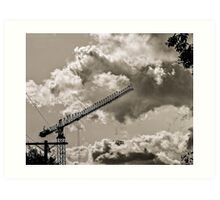 CLOUDS OVER THE PDC 3 Art Print