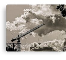CLOUDS OVER THE PDC 3 Canvas Print