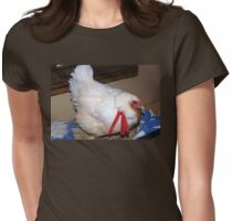 Farm talk - Kiep and her red bandana Womens Fitted T-Shirt