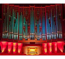 Christchurch Town Hall pipe organ Photographic Print