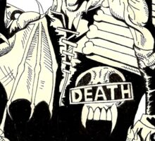 Judge Death Sticker