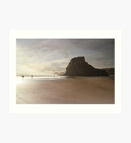 Pride of Piha Art Print