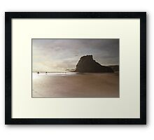 Pride of Piha Framed Print