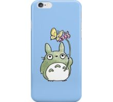 Totoro Flowers iPhone Case/Skin