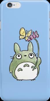 Totoro Flowers by LanFan