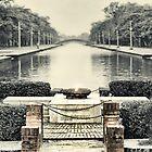 Peace Flame - Lumbini Garden by Alan Robert Cooke