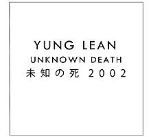 Yung Lean Poster - Sad Boys by DeadWombatTV