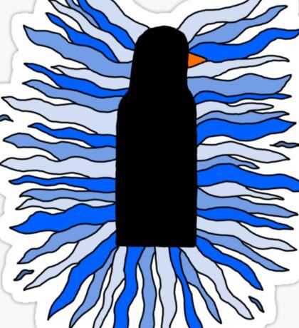 The Black Penguin Sticker