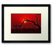 """""""Dawn On The Floodplain"""" Framed Print"""