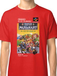 Super Mario Kart Nintendo Super Famicom Japanese Box Art Shirt (SNES) Classic T-Shirt
