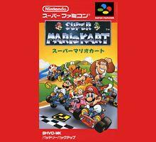 Super Mario Kart Nintendo Super Famicom Japanese Box Art Shirt (SNES) Unisex T-Shirt