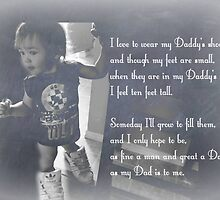 Daddy's Shoes by Laura-Lise Wong