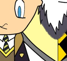 You might belong in Hufflepuff  Where they are just and loyal Sticker