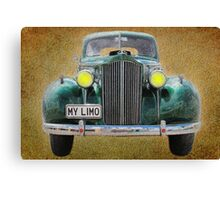 My Limo Canvas Print