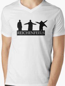 Reichenfeels -Sherlock - Reichenbach fall  Mens V-Neck T-Shirt