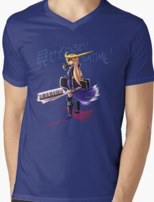見せてやるぜ! TEATIME! (Misete yaru ze! Teatime!) Mens V-Neck T-Shirt