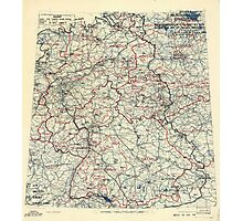 May 19 1945 World War II HQ Twelfth Army Group situation map Photographic Print