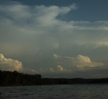 Cloudy at the Lake by PicsbyJody