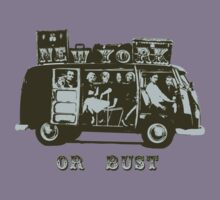 New York Or Bust! by ONE WORLD by High Street Design
