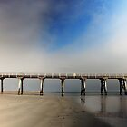 Reflection of Largs Bay Pier by pearloil