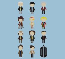Eleven Doctors by dbowkercreative
