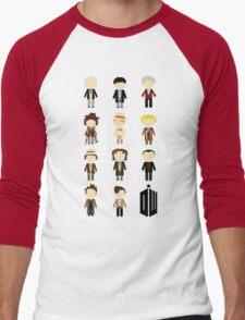 Eleven Doctors Men's Baseball ¾ T-Shirt