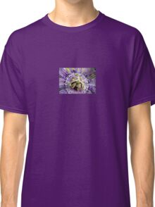 Purple Passion Flower Close Up Classic T-Shirt