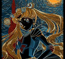 Usagi and the Starry Night by Gilles Bone