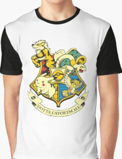 Pokemon Harry Potter Graphic T-Shirt